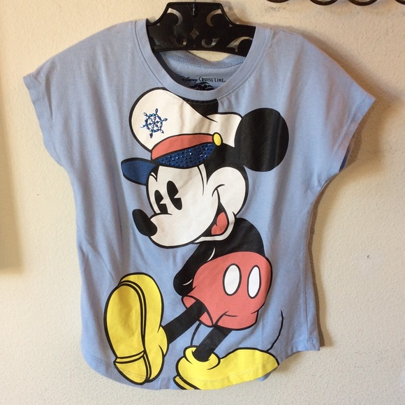 Disney Other - Captain Sailor Mickey Mouse Disney Cruise Tee